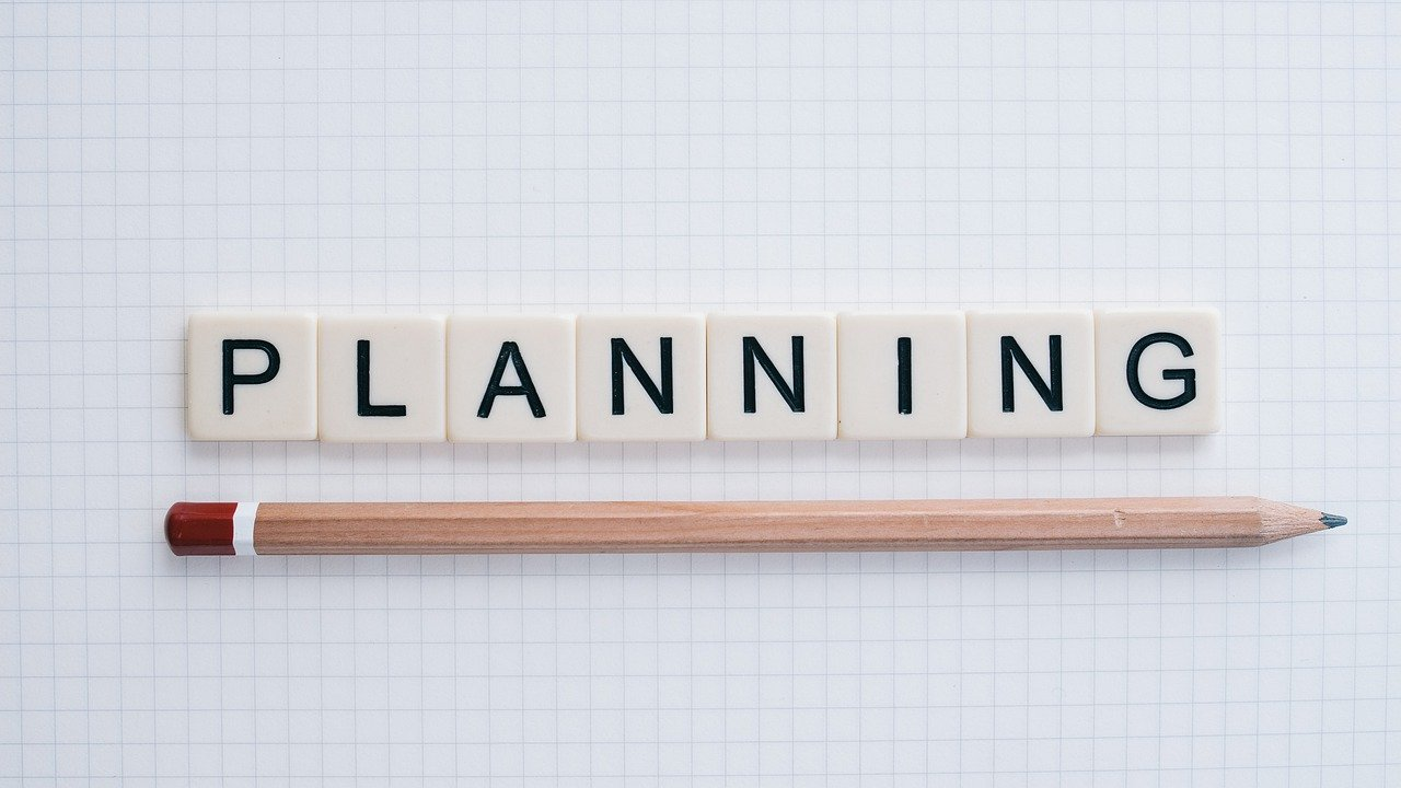 planning, organized, word